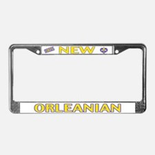100% New Orleanian License Plate Frame