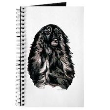 Afghan Hound Portrait Journal