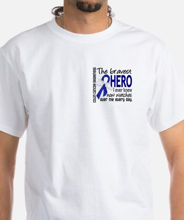 Bravest Hero I Knew Colon Cancer Shirt