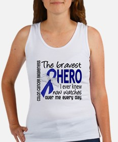 Bravest Hero I Knew Colon Cancer Women's Tank Top