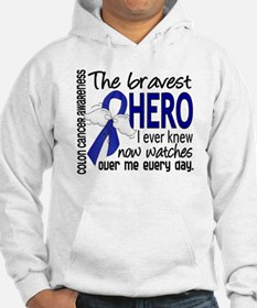 Bravest Hero I Knew Colon Cancer Hoodie