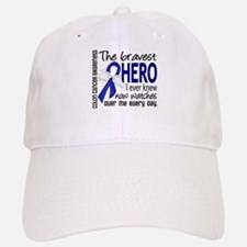 Bravest Hero I Knew Colon Cancer Baseball Baseball Cap