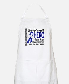 Bravest Hero I Knew Colon Cancer Apron