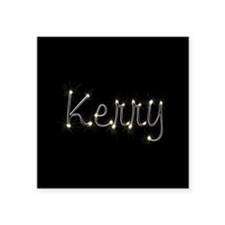 "Kerry Spark Square Sticker 3"" x 3"""