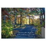 Proverbs 3 6 Wrapped Canvas Art
