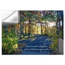 Seek His Will...Wall Art Wall Decal
