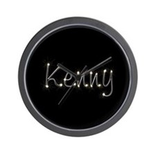 Kenny Spark Wall Clock