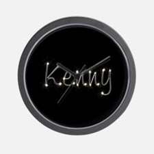 Kenny Spark Wall Clock