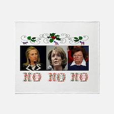DEMOCRATS XMAS Throw Blanket