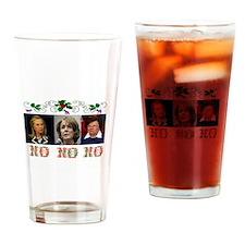 DEMOCRATS XMAS Drinking Glass