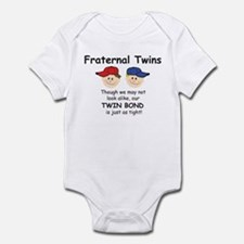 Fraternal Twin Infant Creeper