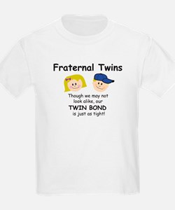 Fraternal Twins Kids T-Shirt