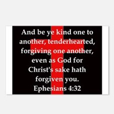 Ephesians 4-32 Postcards (Package of 8)