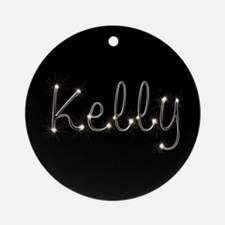 Kelly Spark Ornament (Round)