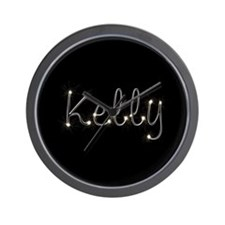 Kelly Spark Wall Clock