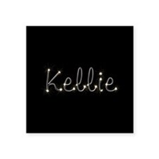 "Kellie Spark Square Sticker 3"" x 3"""