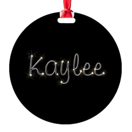 Kaylee Spark Round Ornament