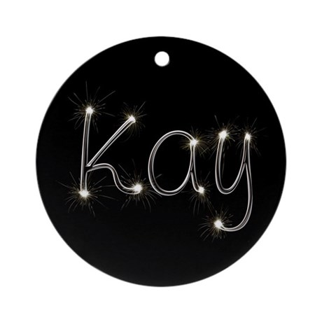 Kay Spark Ornament (Round)