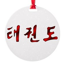 Korean Taekwondo Ornament