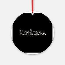 Katharine Spark Ornament (Round)