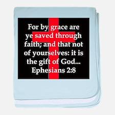 Ephesians 2-8 baby blanket