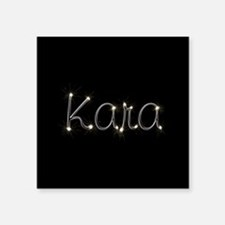 "Kara Spark Square Sticker 3"" x 3"""