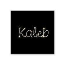"Kaleb Spark Square Sticker 3"" x 3"""