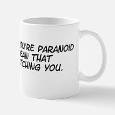 paranoid I Mugs