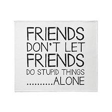Good Friends Throw Blanket