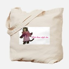 Cats have style too - Tote Bag
