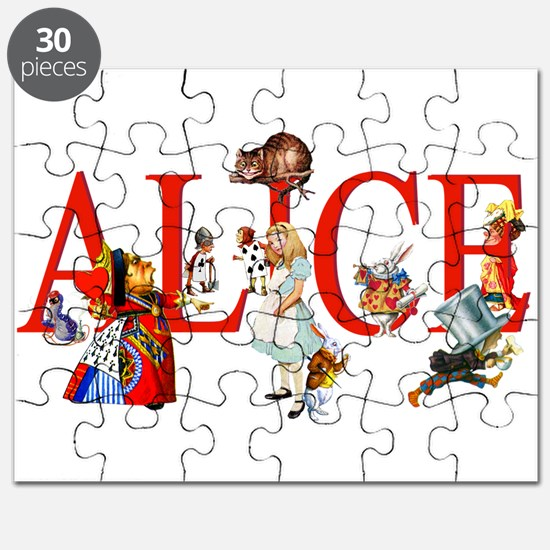Alice and Her Friends in Wonderland Puzzle