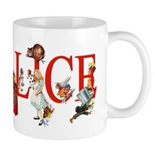 Alice and Her Friends in Wonderland Mug