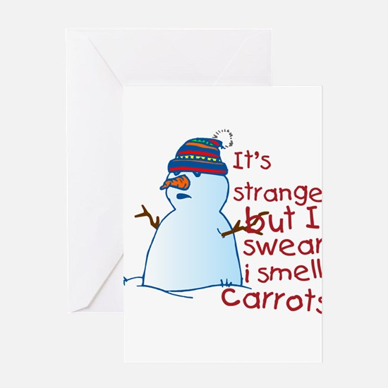 I Smell Carrots Greeting Cards