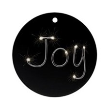 Joy Spark Ornament (Round)