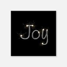 "Joy Spark Square Sticker 3"" x 3"""