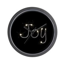 Joy Spark Wall Clock