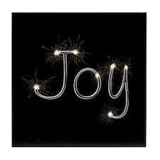 Joy Spark Tile Coaster