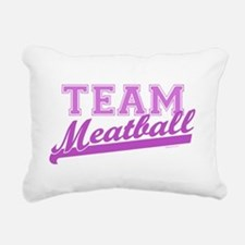 Team Meatball.png Rectangular Canvas Pillow
