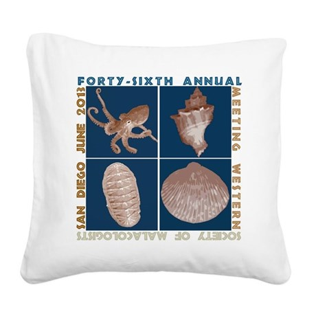 2013meeting logo Square Canvas Pillow