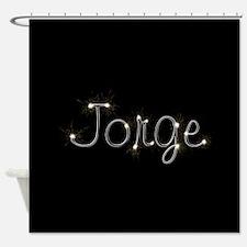 Jorge Spark Shower Curtain