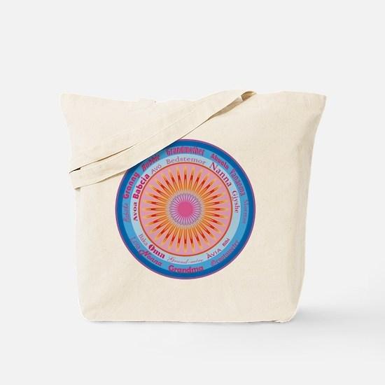 Grandmother World Tote Bag