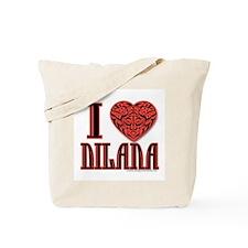 I Love Dilana Tote Bag