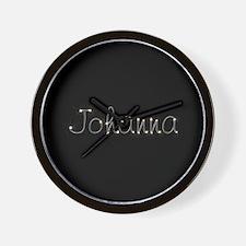 Johanna Spark Wall Clock