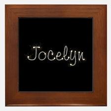 Jocelyn Spark Framed Tile