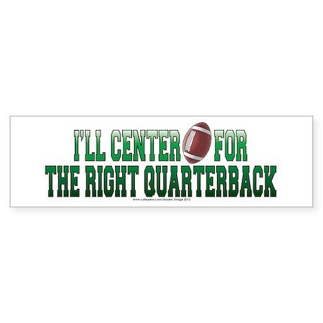 Ill Center Sticker (Bumper)