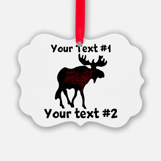 custommoose Ornament