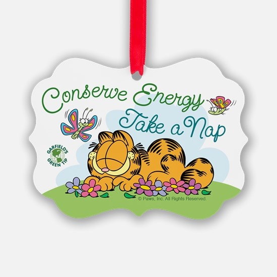 Conserve Energy Ornament