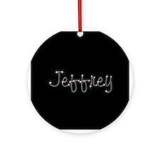 Jeffrey Spark Ornament (Round)