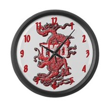 TKD Dragon Large Wall Clock