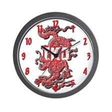TKD Dragon Wall Clock